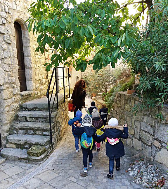 Balade contée avec l'école maternelle des Matelles (2017)