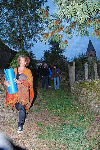 Balade contée à Gramond, Aveyron (2012)